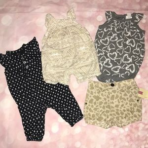 "Baby girl ""all things patterns"" bundle"